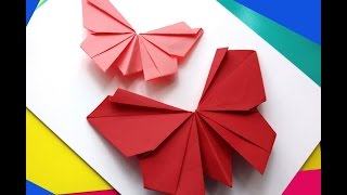 Gambar cover Origami butterfly - Easy to do. Paper butterfly - Wall decoration - decor