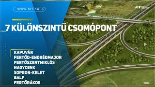 Sopron megközelítése, M85 autóút Csorna II. – Fertőd-Endrédmajor csomópont közötti szakasz megvalósítása