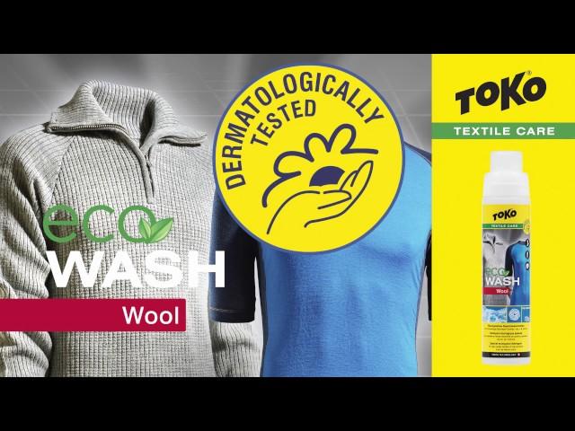 Видео Средство для стирки Toko Eco Wool Wash 250ml