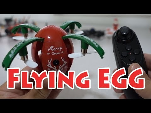 JJRC H66 Flying X-MAS Egg Review