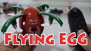 JJRC H66 X-MAS Egg Folding Drone Review