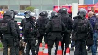 Suspected terrorist attacks airport in Paris