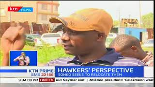 Governor Mike Sonko plans to relocate hawkers from the CBD