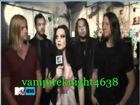 Evanescence What you Want behind the scenes part 2