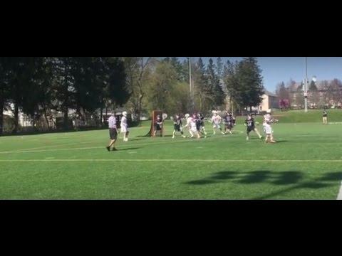 St. Lawrence University Saints win NCAA lacrosse opener