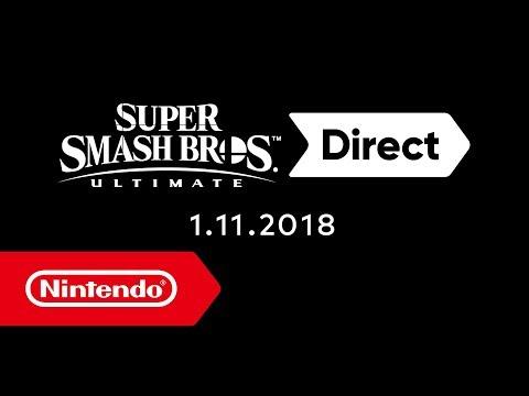 Super Smash Bros. Ultimate Direct  – 1 de noviembre de 2018 (видео)