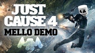 JUST CAUSE 4 Gamescom Demo | Gaming with Marshmello