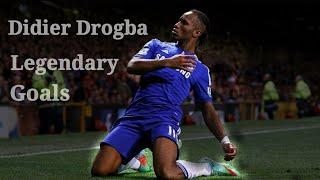 Дидье Дрогба | Легендарные голы в Челси | HD