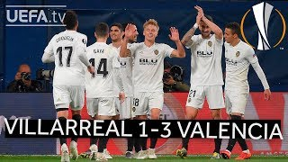 VILLARREAL 1-3 VALENCIA #UEL HIGHLIGHTS