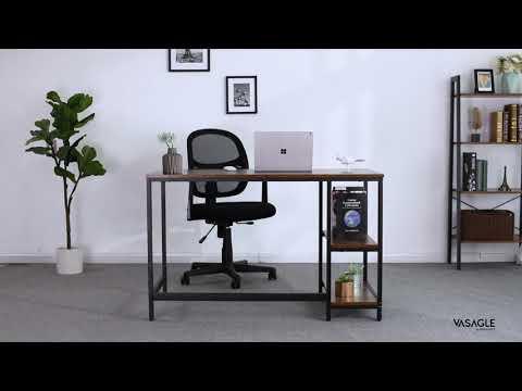 Vasagle scrivania per computer industriale (120cm)