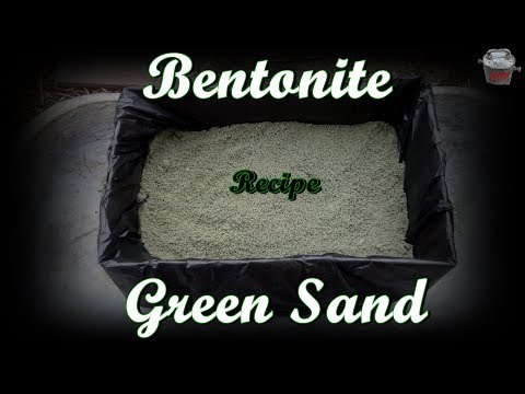 Bentonite Green Sand recipe.  Sticky, oily and just great