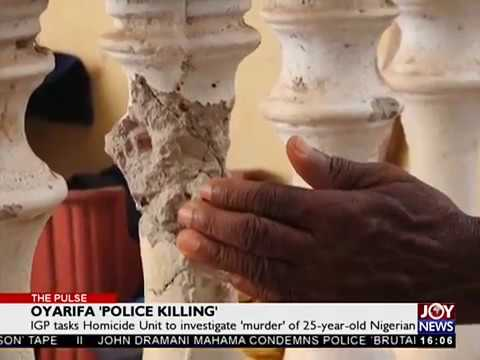 Oyarifa 'Police Killing'- The Pulse on JoyNews (28-3-18)
