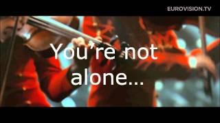Aram MP3 - Not Alone Lyrics (Armenia) 2014 Eurovision Song Contest