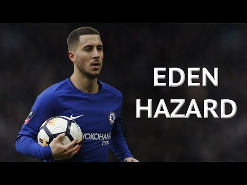 Eden Hazard - Vision & Passing 2017/18