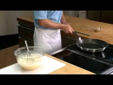 Rezept kochen: Pfannkuchen zubereiten