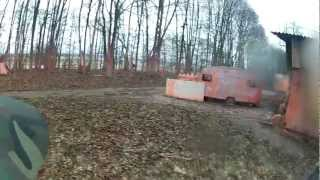 preview picture of video 'Paintball in Preussisch Oldendorf - Battle #5 - 13.01.2013 UNCUT'