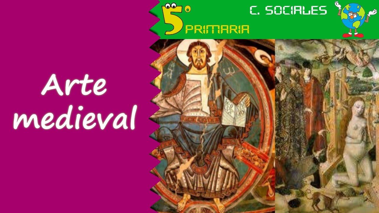 Arte medieval en la Península Ibérica. Sociales, 5º Primaria. Tema 7