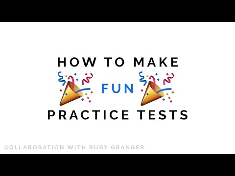how to make *fun* practice tests! 📚 effective studying techniques