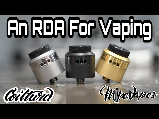 Flavor Beast! An RDA For Vaping By CoilTurd