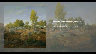 Andante and Variations, Op.83a