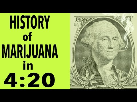 History of Marijuana in 4 Minutes and 20 Seconds