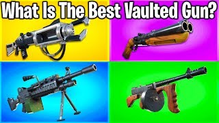 RANKING EVERY WEAPON EVER REMOVED FROM FORTNITE!