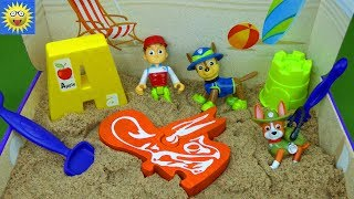 Paw Patrol Toys Digging for Dinosaur Bones Puzzle Learning Video Alphabet Letter Sounds ABC's