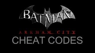 COM; Batman; Arkham City; Command Cheat Codes