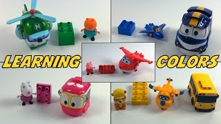 Learning with Toys Ep02 Colors-Red, Green, Yellow, Blue, Pink