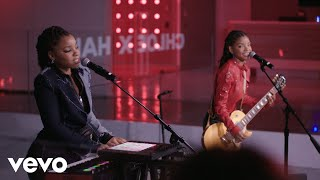 Chloe x Halle - The Kids Are Alright (Chloe x Halle live on the Honda Stage at iHeartRa...