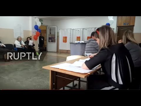 LIVE: Crimea votes in Russian presidential election