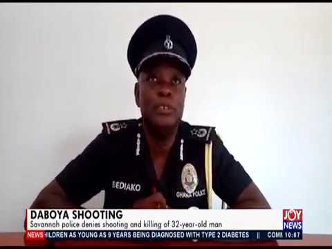 Daboya Shooting - News Desk on JoyNews (15-11-19)