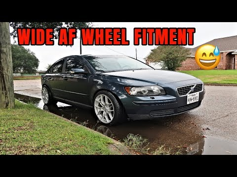 VOLVO Breaking Necks! New wheels & springs for Volvo s40 | Part Two