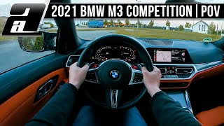 2021 BMW M3 Competition (510PS, 650Nm) | POV