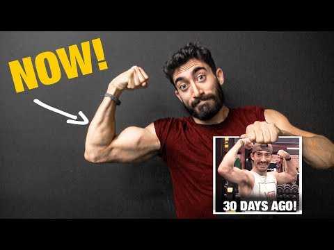 He Did This One Biceps Exercise for 30 Days (WOW!!)