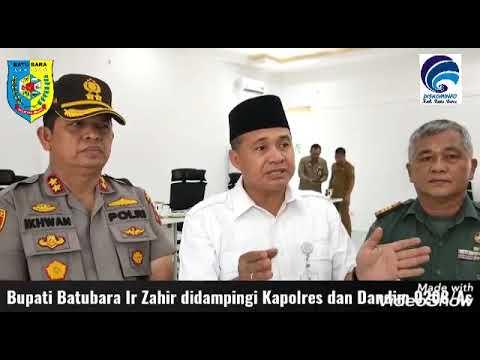 Kesiapsiagaan Coronavirus Kabupaten Batu Bara