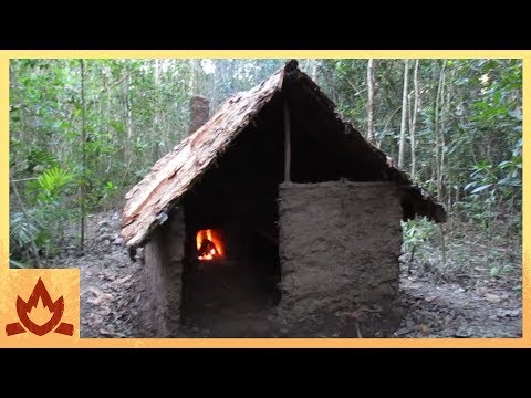 SHTF #5 Building a Survival Shelter!