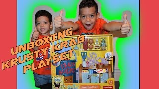 imaginext spongebob krusty krab kastle - 免费在线视频最佳