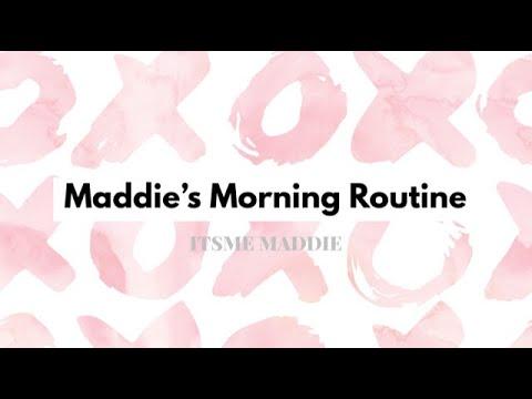 Tween Early Morning Weekend Wakeup Routine