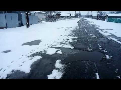 Ходил в администрацию//Снег идёт//Жизнь в деревне