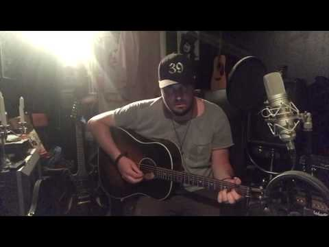 Luke Combs- Even Though I'm Leaving, Acoustic Cover