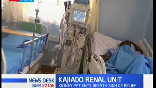 Kajiado county government gets five new dialysis machines to help kidney patients.