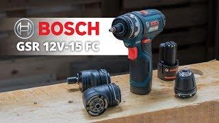 Bosch GSR 12V 15 FC - 12 Volt Akku Bohrschrauber mit FlexiClick | Vorstellung