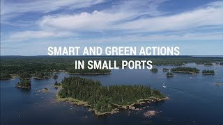 Smart and green actions in small ports