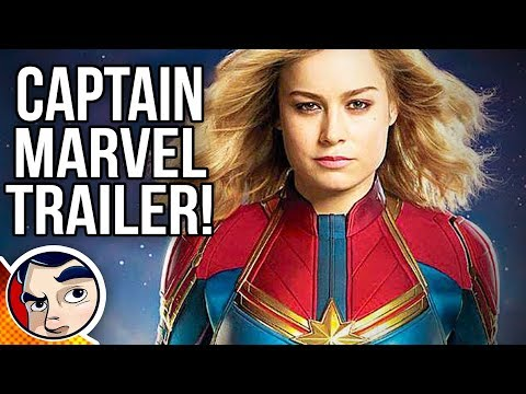 Captain Marvel Trailer Theories & MCU Inclusion Theories!