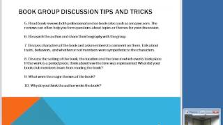 NCompass Live: How to Lead a Book Group With No Discussion Questions Provided