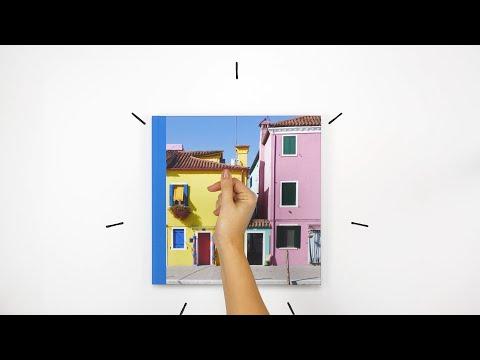 Die verschiedenen Optionen zur Erstellung Ihres Fotobuchs