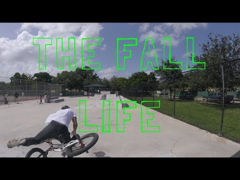 Riding My BMX Bike In Homestead FL,  Skatepark