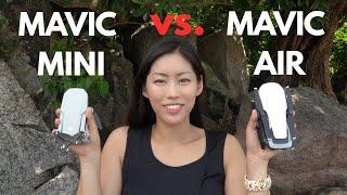 Mavic Mini vs Mavic Air | Which Drone is Better | Download the Original Videos
