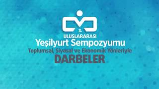 GAZETECİ-YAZAR EKREM KIZILTAŞ, YESILYURT DARBELER  SEMPOZYUMUNA KATILDI